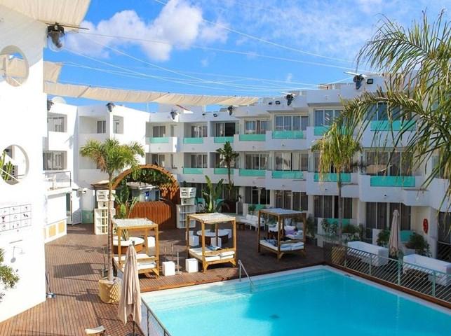 Bora Bora Apartments, Playa d'en Bossa, Ibiza, Spain