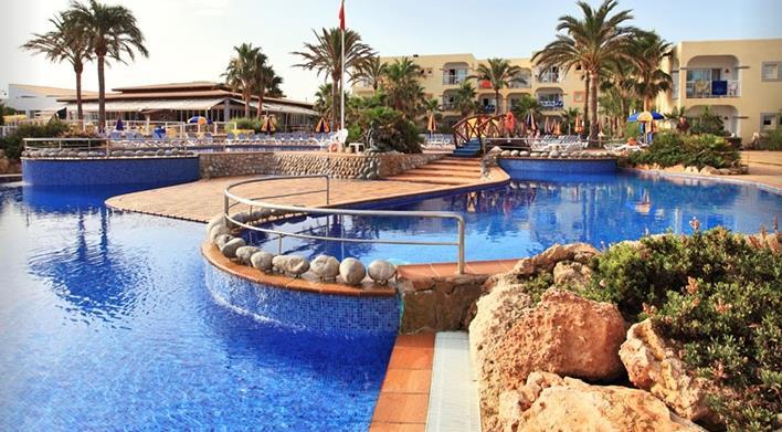 Sirenis Club Aura Hotel, Port Des Torrent, Ibiza, Spain