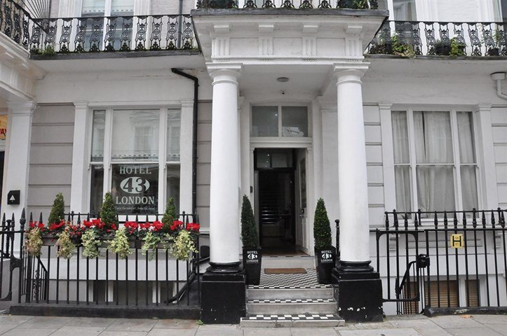 Hotel 43 london united kingdom travel republic for 43 queensborough terrace