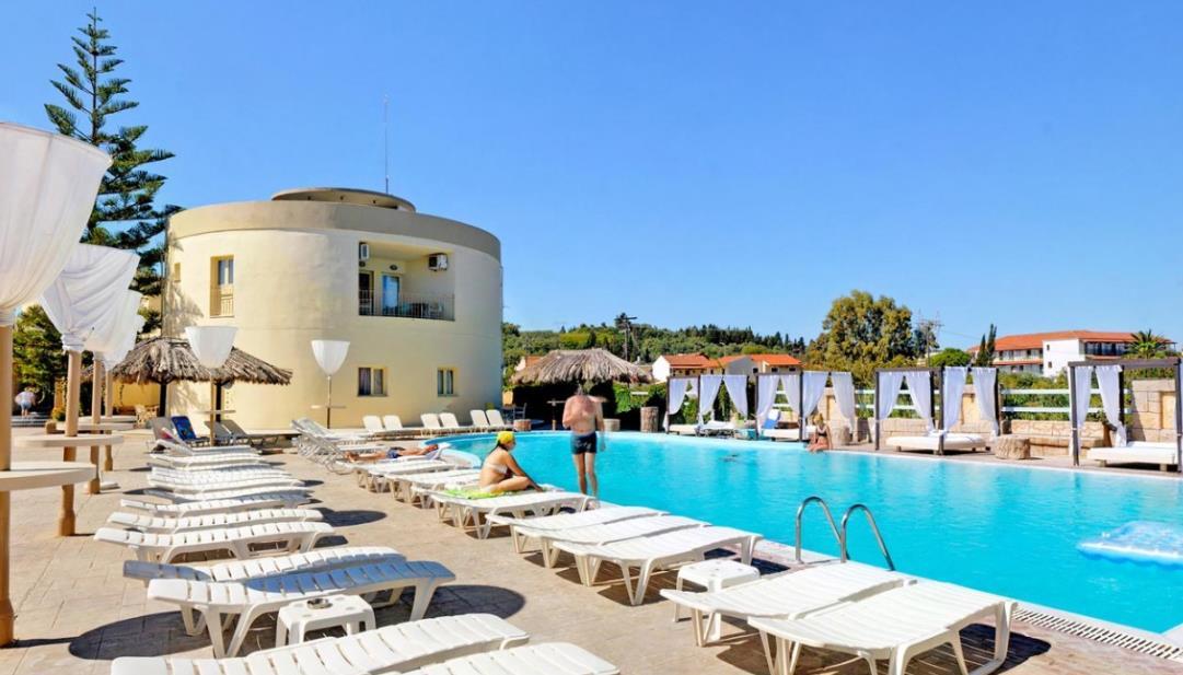 Island Beach Resort Corfu Greece Travel Republic