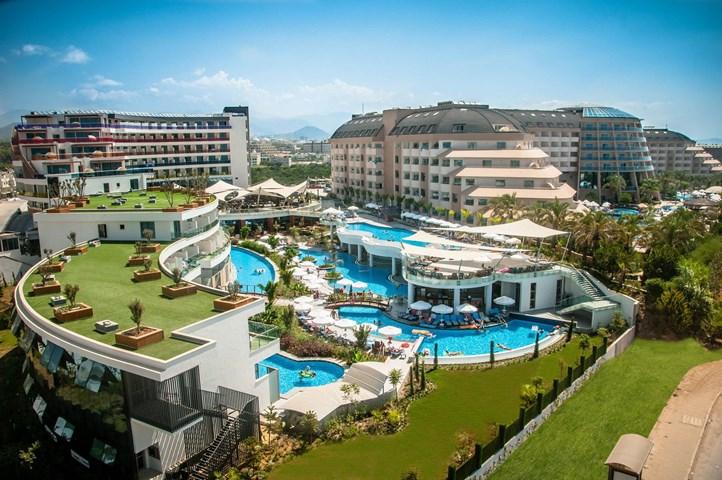 Long Beach Resort Hotel & Spa Deluxe, Turkler, Antalya ...