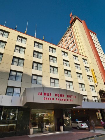 James cook grand chancellor hotel travel republic for 147 the terrace wellington new zealand