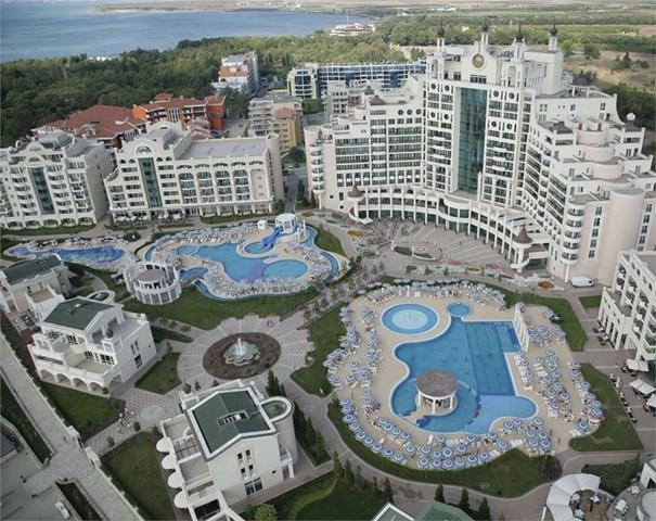 Sunset Resort Hotel Pomorie Bourgas Bulgaria Travel