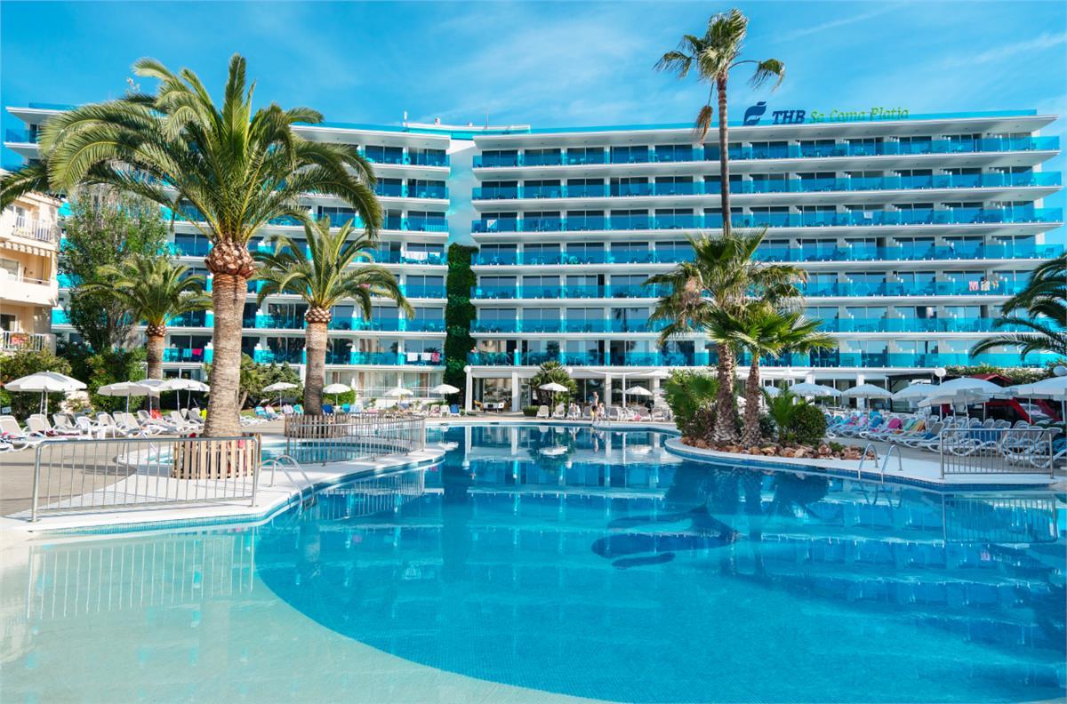 Thb Sa Coma Platja Hotel Sa Coma Majorca Spain Travel Republic