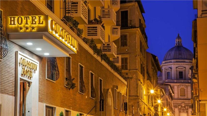 Hotel Colosseum Rome Rome Italy Travel Republic