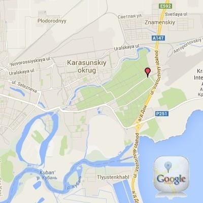 Krasnodar Russia Map Google on moscow russia map google, kazan russia map google, sochi russia map google, perm russia map google,
