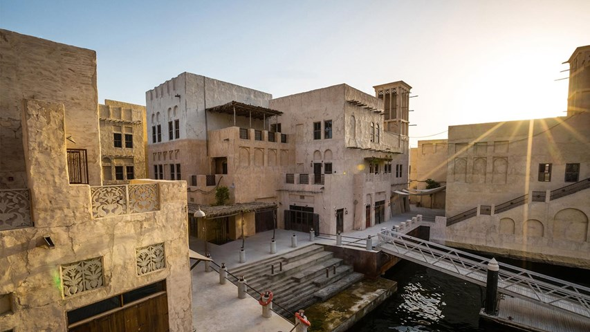 Al Seef Heritage Hotel, Curio Collection by Hilton, Dubai Creek ...